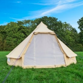 Boutique C&ing 4m Sandstone Wide Door Bell Tent & Bell Tent Australia Family Canvas Tents by Boutique Camping