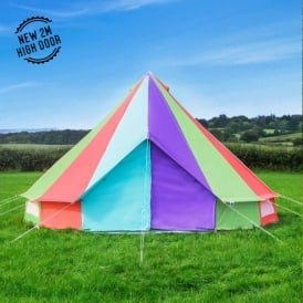 & Pattern Bell Tents