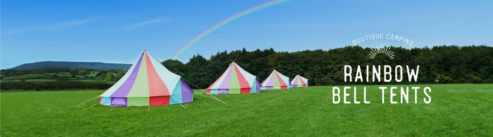 Rainbow Bell Tents