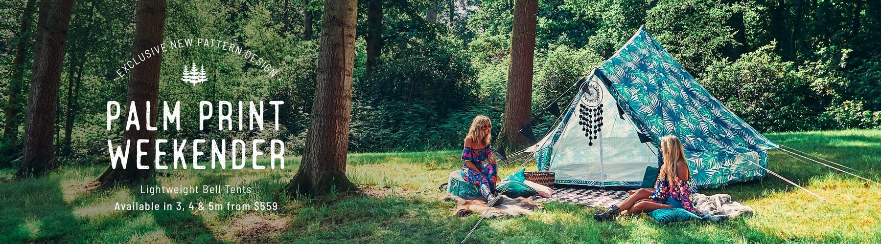 Palm Leaf Bell Tent