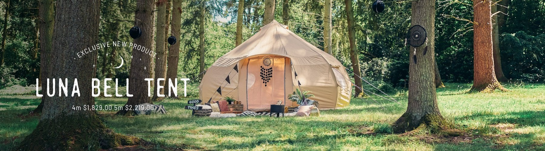 The Luna Bell Tent